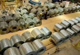 To apply temporary antidumping duties for several items of steel
