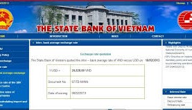 Changes in organizational structure of the state bank of Vietnam