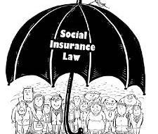 Social insurance under law on social Insurance