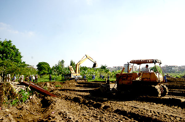 The support for stabilizing production upon land recovery  by the state