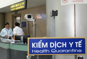 Health quarantine process for persons on entry or exit