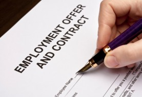Preparing employment Contract
