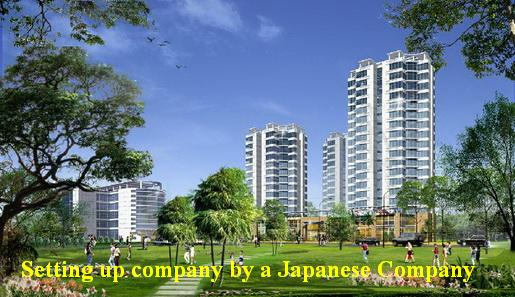 Setting up company by a Japanese Company
