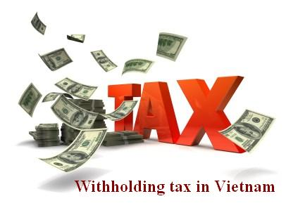 Withholding tax in Vietnam