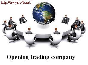 opening trading company in Hochiminh City.