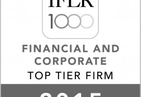 SBLAW is recommended by The IFLR100 in the field of banking and finance for the year 2015-2016