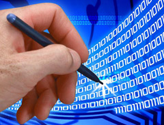 Electronic data messages are considered  the identification of evidences