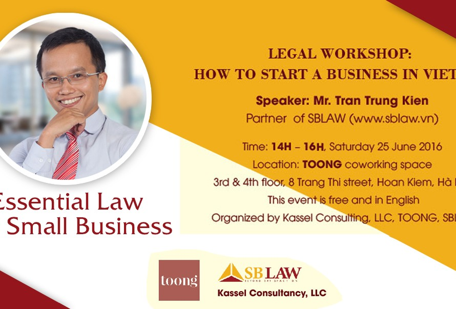 Legal workshop: How to start a business in Vietnam