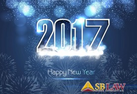 SBLAW wish you all a Happy and Prosperous New Year 2017.