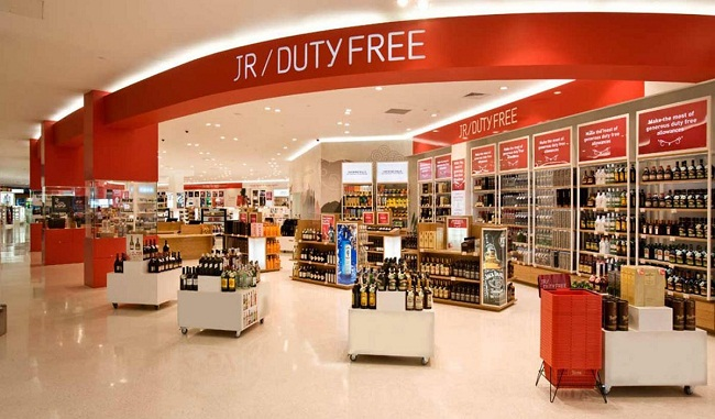 GOODS TEMPORARILY IMPORTED FOR SALE AT DUTY FREE SHOPS  ARE EXEMPT FROM IMPORT DUTY AND VAT