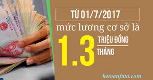 FROM JULY 01, 2017, THE STATUTORY PAY RATE IS VND 1,300,000 PER MONTH