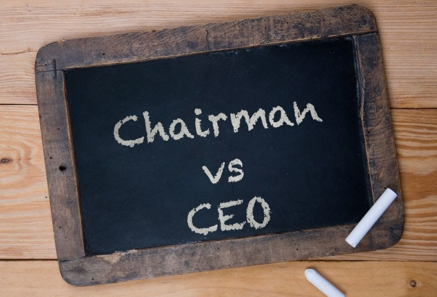 Is it wise for the CEO of a company to also be Chairman of the Board?